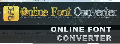 Online Font Converter free