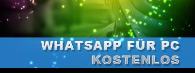 WhatsApp für PC